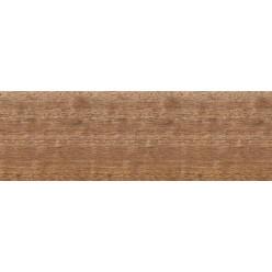 Плинтус шпонированный Африканский Махагони профиль галтель (сапожок)