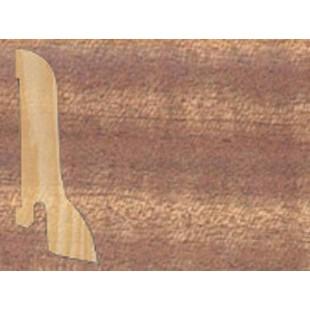 Плинтус шпонированный Tarkett профиль – галтель (сапожок) Африканский Махагони