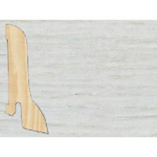 Плинтус шпонированный Tarkett профиль – галтель (сапожок) Дуб нордик