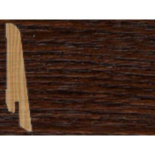 Плинтус шпонированный Tarkett профиль - наклонный, высота 80 мм Art Brown Barcelona 559541056