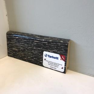 Плинтус шпонированный Tarkett профиль - наклонный, высота 80 мм Art Black or White  559541062