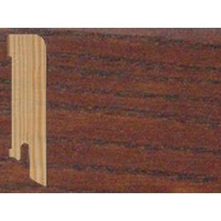 Плинтус напольный прямой (плоский) шпонированный Tarkett Ясень Коньяк
