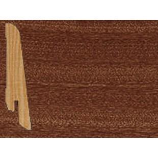 Плинтус шпонированный Tarkett профиль - наклонный, высота 80 мм African Mahogany 559541039