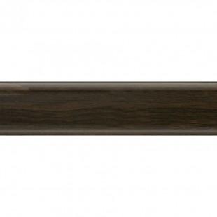 Плоский плинтус Salag высота 62 мм. артикул NG6024 Венге (Wenge)