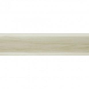 Плоский плинтус Salag высота 62 мм. артикул NG6028 Клен патина (Maple patina)