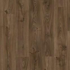 Виниловый ламинат Quick Step Balance Click Дуб Коттедж темно-коричневый