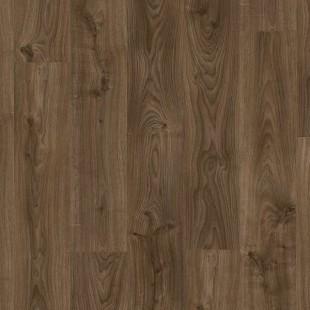Виниловые полы Quick-Step коллекция Balance Click Дуб Коттедж темно-коричневый BACL40027